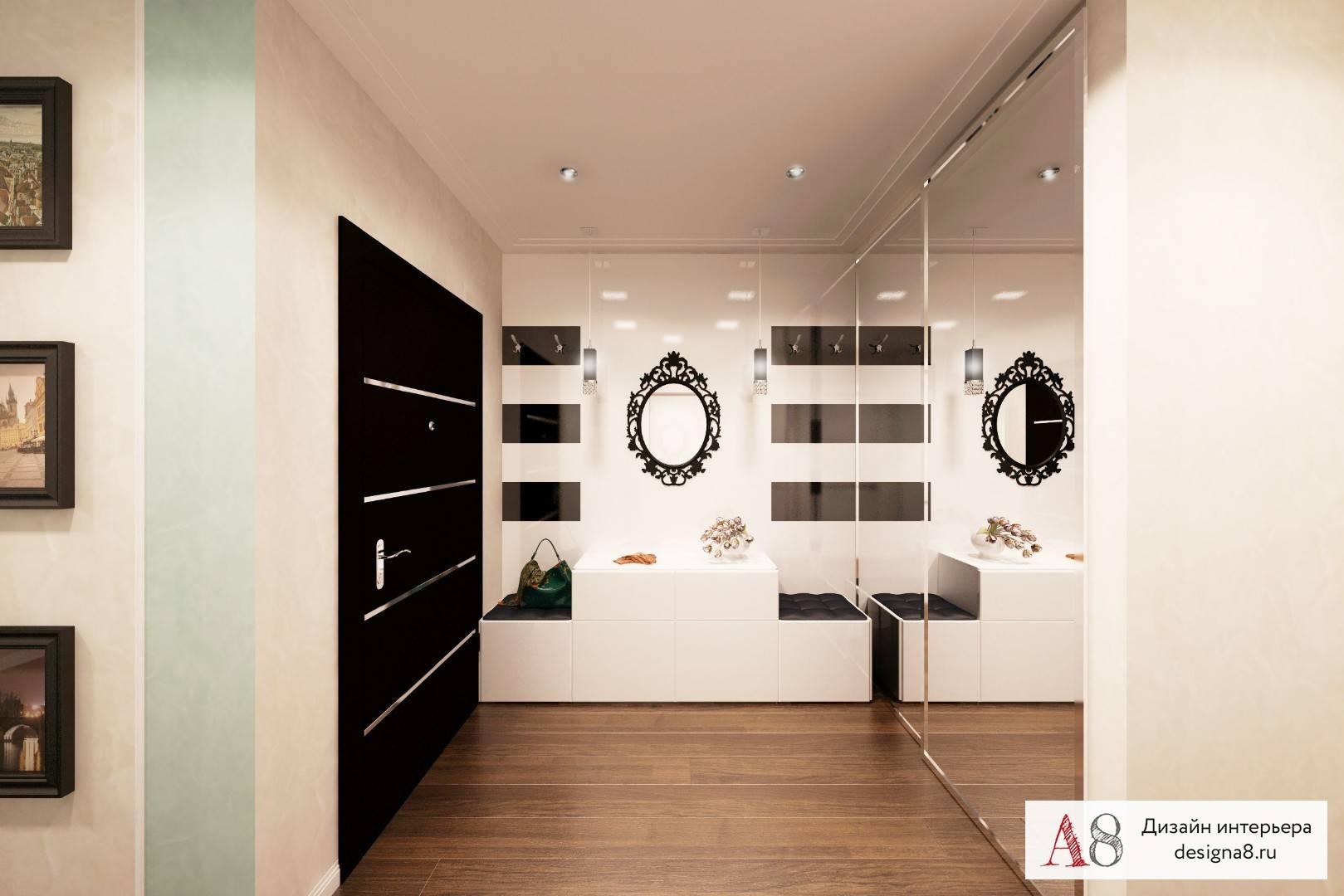 Дизайн квартиры 100 кв. м. – идеи обустройства, фото в интерьере комнат