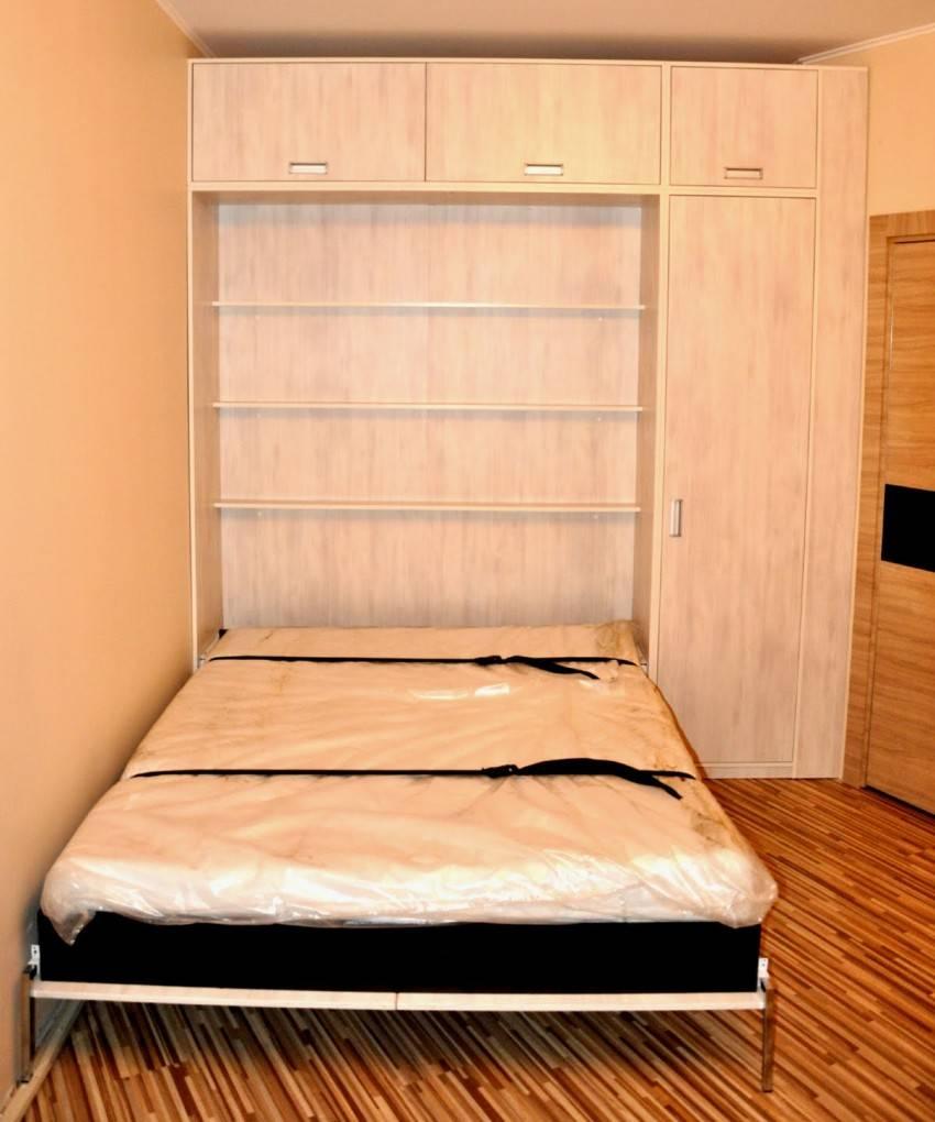 Откидная кровать: виды, выбор, модели, фото