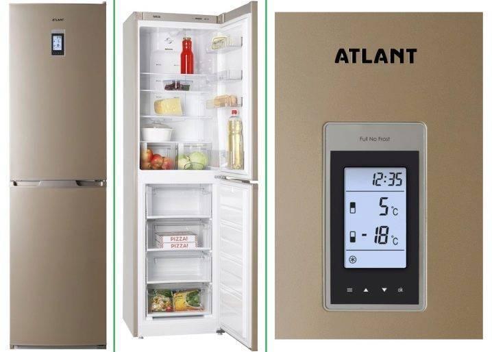 Топ-10 лучших холодильников атлант