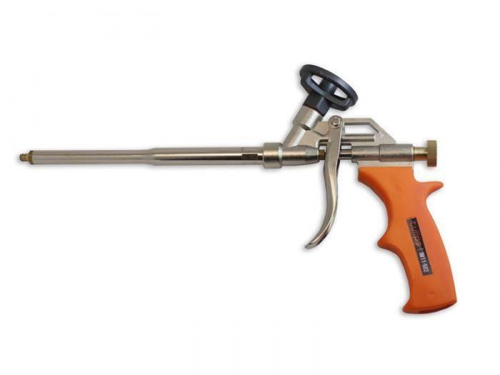 Пистолет для монтажной пены зубр: на что обратить внимание при покупке