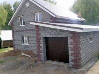 Этапы и правила постройки гаража из пеноблоков своими руками, материалы и проекты
