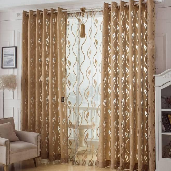 Шторы из органзы - современное украшение дома (119 фото)