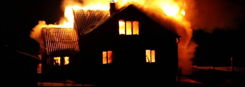 Как вести себя при пожаре дома: план действий