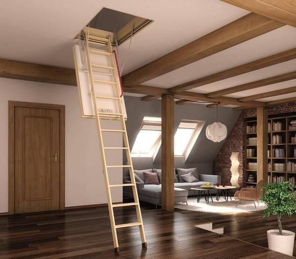 Как сделать складную чердачную лестницу своими руками: пошаговые инструкции и мастер-классы