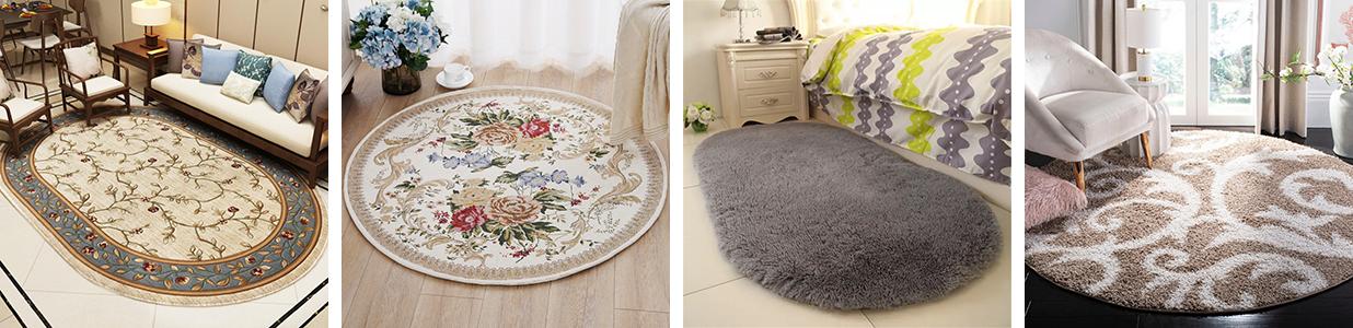 Овальные ковры (58 фото): синтетические сиреневые рельефные ковры на пол, овал, однотонные изделия