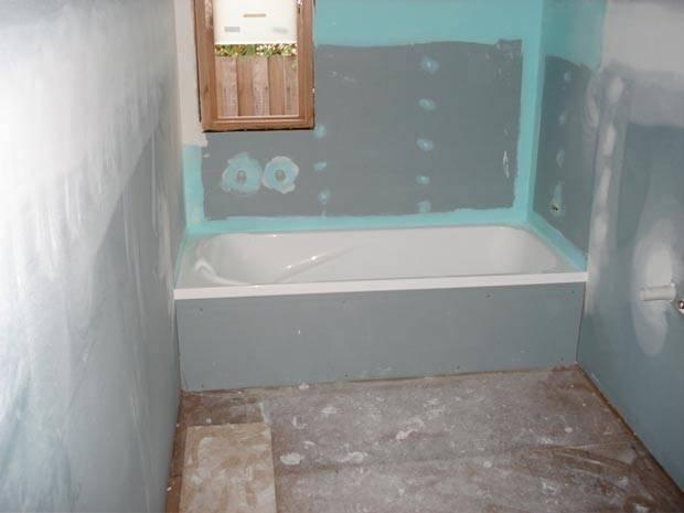 Выравнивание стен при помощи гипсокартона своими руками с каркасом и без в ванной