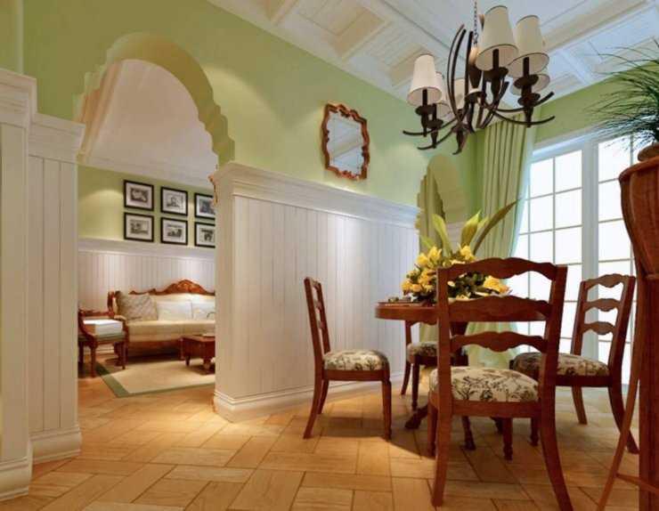Комбинированный пол на кухне: как лучше сделать, фото в интерьере