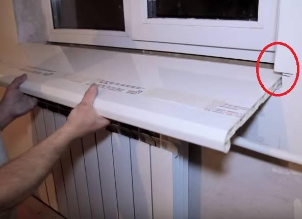 Пластиковый подоконник своими руками: особенности изделия, подготовка к установке возле пвх окна, тонкости монтажа и как отбелить в домашних условиях?