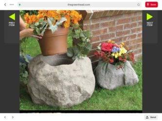 Вазон из бетона своими руками (58 фото): бетонные клумбы для уличных цветов, как сделать самостоятельно для сада из цемента и тряпки