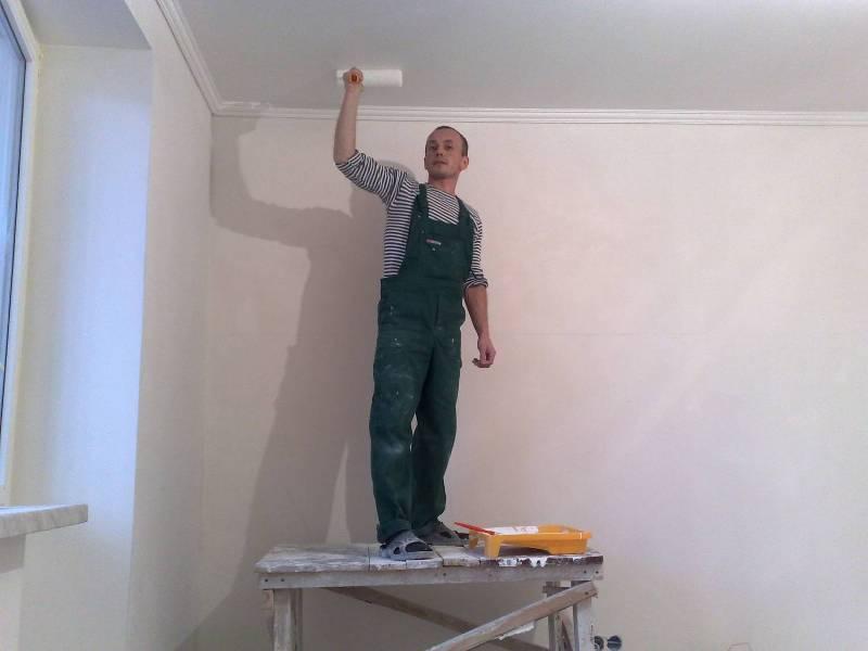 Как удалить побелку с потолка: как снять старую побелку, как быстро убрать, очистить, как избавиться от побелки на потолке