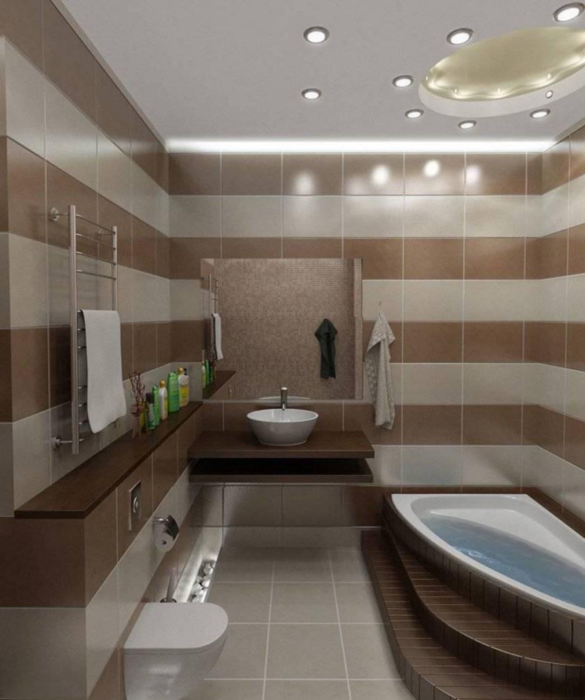 Дизайн ванной комнаты 4 кв. метра: идеи ремонта и фото