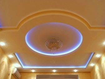 Акриловый потолок с подсветкой - конструкция, плюсы и минусы