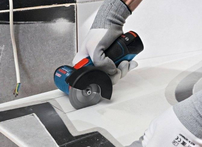 Как резать плитку без плиткореза: правила, рекомендации, видео