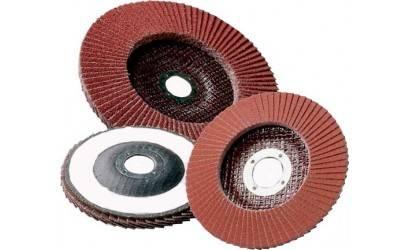 Разновидности лепестковых кругов: торцевые шлифовальные насадки для болгарки