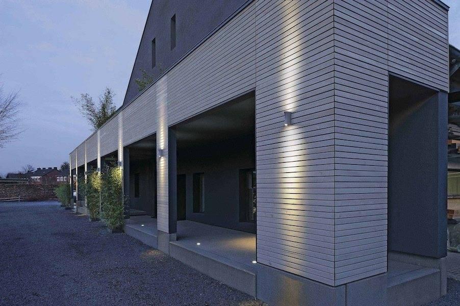 Архитектурная подсветка зданий и домов