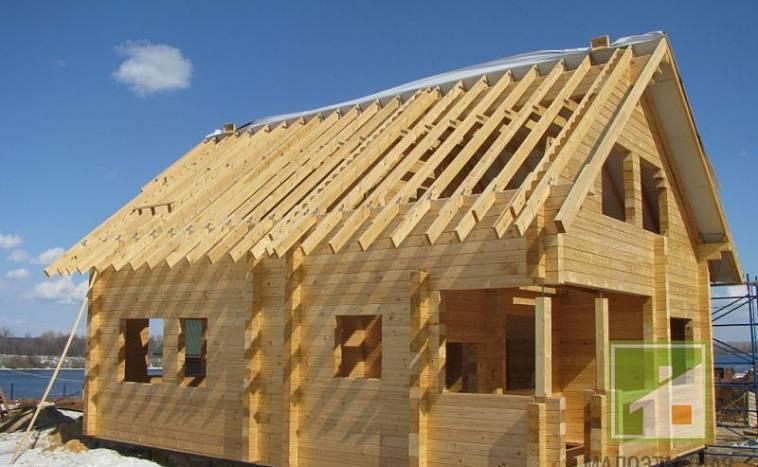 Как строить дом из бруса: технология и этапы строительства