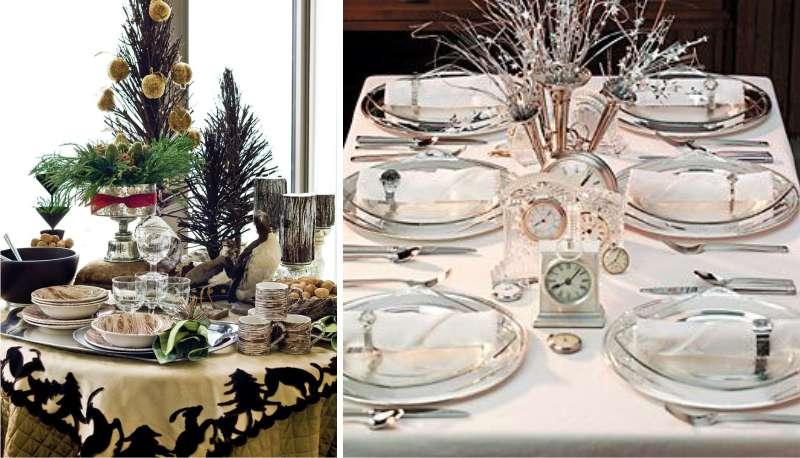Как сервировать стол на новый год: новогодняя сервировка стола