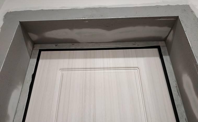 Отделка откосов входной двери своими руками из мдф, ламината и гипсокартона