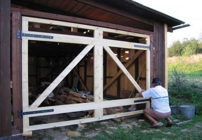 Гаражные ворота: тонкости выбора конструкции