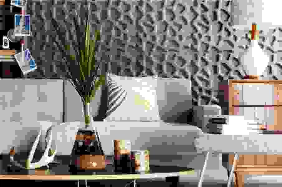 3d панели для стен в интерьере - фото примеров