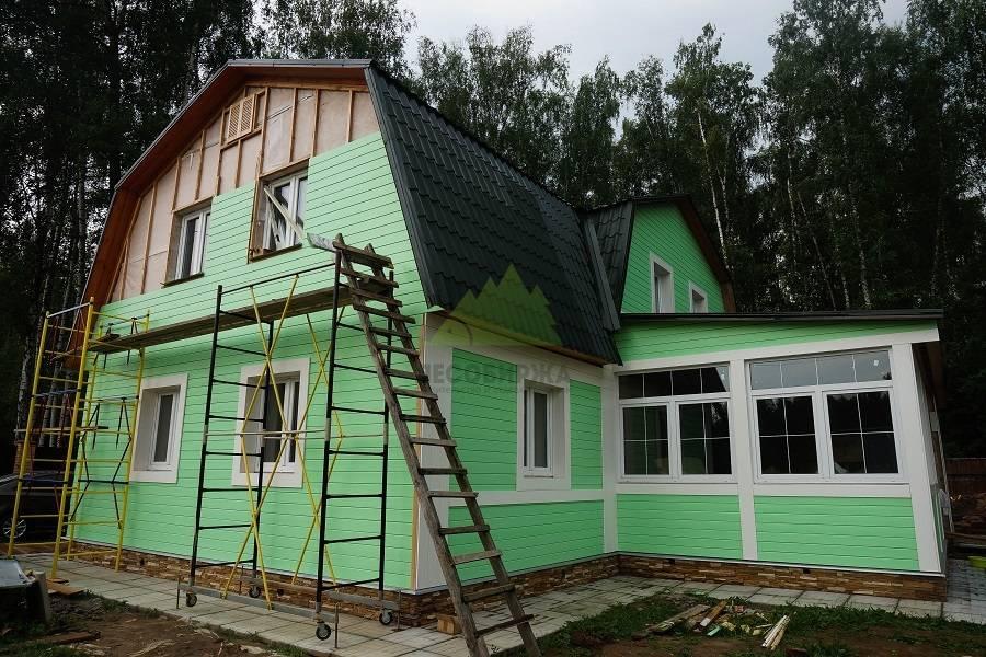 Чем обшить каркасный дом снаружи?