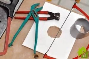 Как просверлить отверстие в кафельной плитке: советы мастеров