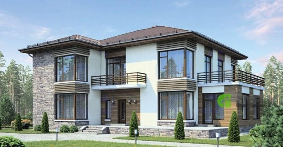 Дом с панорамными окнами — особенности технологии и конструкций остекления (105 фото)