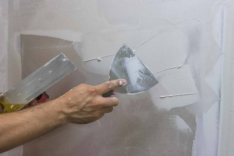 Шпаклевка стен – советы по выбору и нанесению материала. лучшие варианты от мастеров (110 фото)