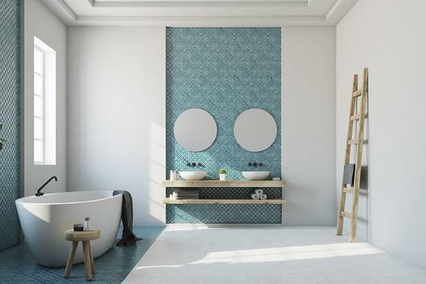 Белая ванная комната — фото идей уютного и практичного дизайна