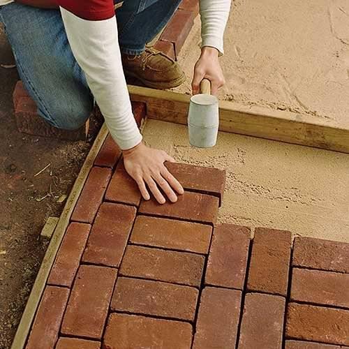 От профи: укладка тротуарной плитки на геотекстиль своими руками