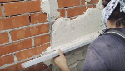 Штукатурка стен цементно-песчаным раствором: пропорции замешивания и правила нанесения