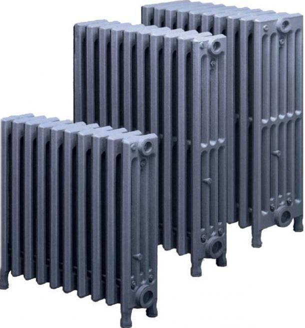 Чугунные радиаторы — технические характеристики различных видов батарей