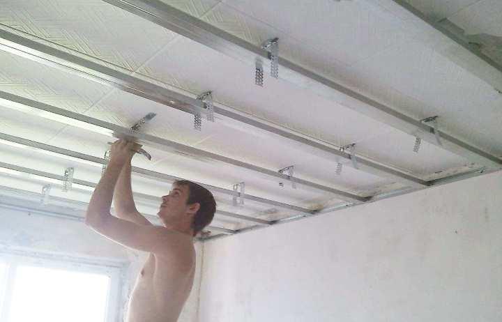 Как разобрать реечный потолок в ванной: видео и снять подвесной, демонтаж своими руками