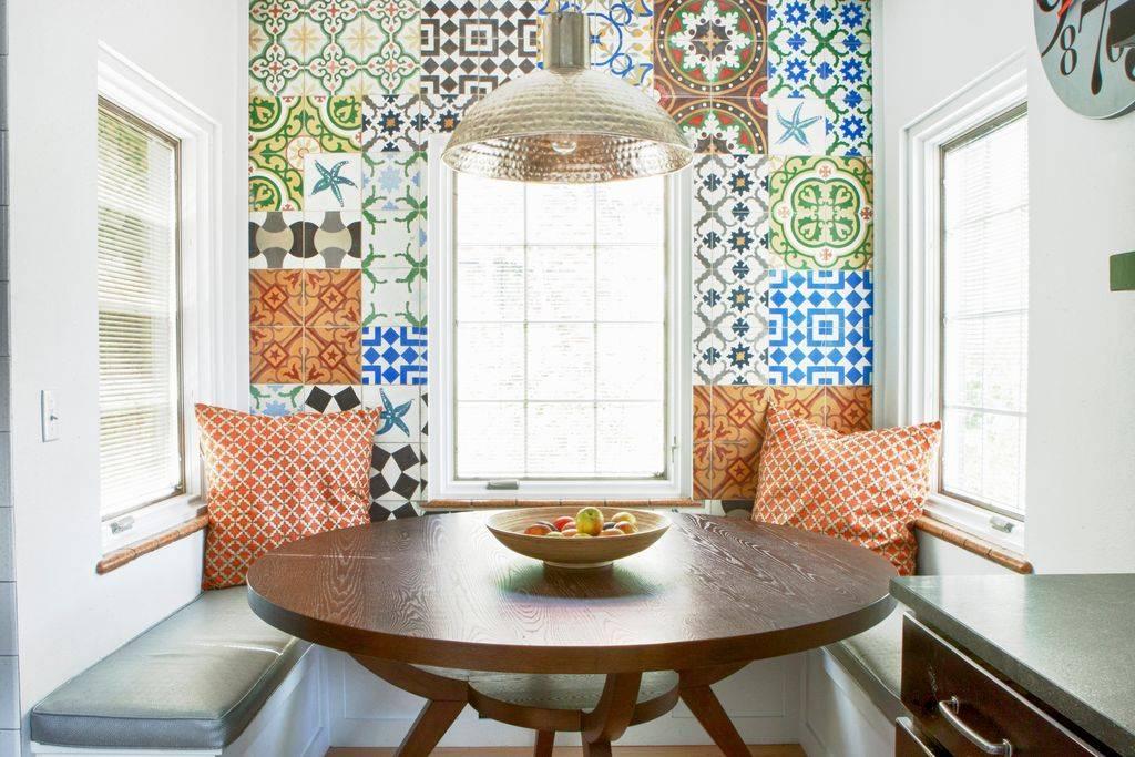 Плитка пэчворк для кухни: особенности керамической плитки в интерьере кухни в стиле пэчворк. варианты дизайна. достоинства и недостатки