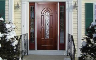 Размеры металлических входных дверей: стандарты и советы. размеры металлических дверей: что важно знать