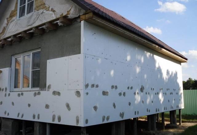 Как утеплить дом из бруса 150х150 снаружи