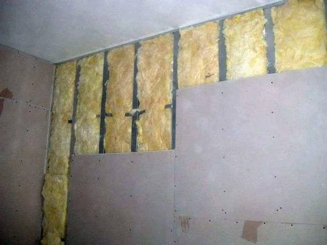 Утепление стен изнутри минватой