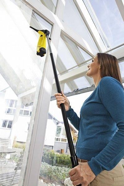Моем окна керхером: можно ли и как правильно пользоваться пароочистителем и другой техникой karcher для чистки стекол?
