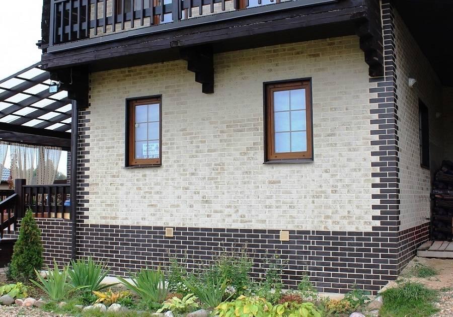 Отделка фасада клинкерной плиткой своими руками