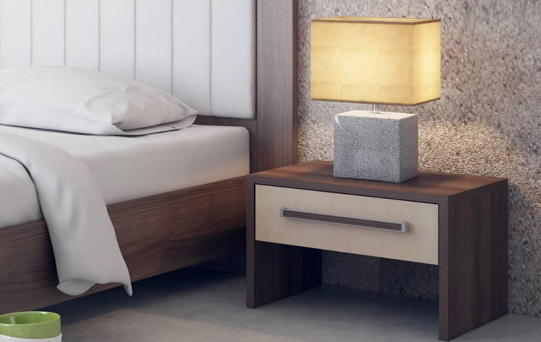 Подвесная прикроватная тумба в спальню — виды и устройство