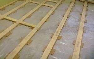 Как выровнять деревянный пол: инструкция