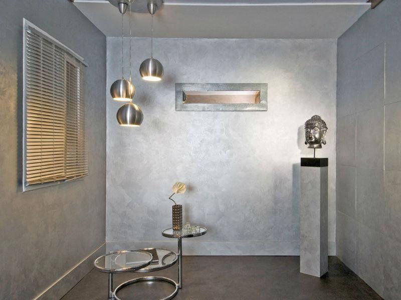 Фактурные краски для стен с эффектами: разновидности для внутренних работ