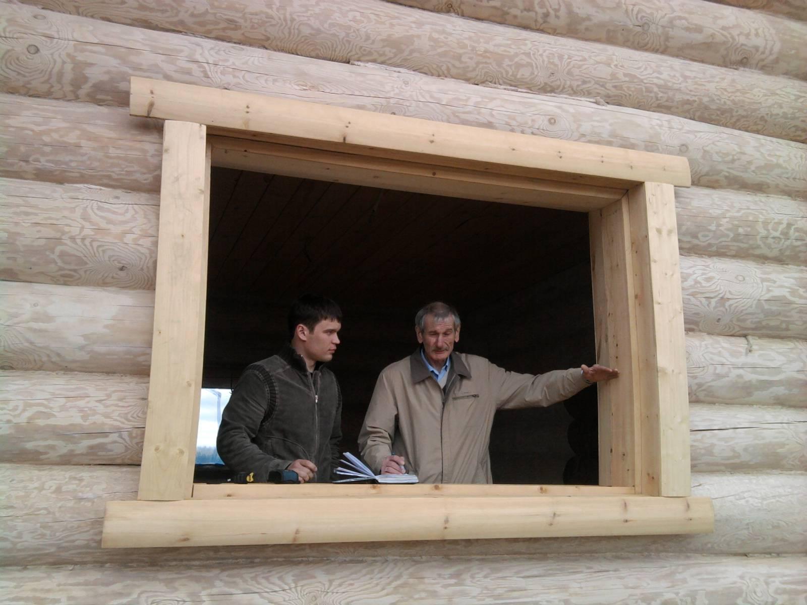 Установка пластиковых окон в деревянном доме – правила и ошибки
