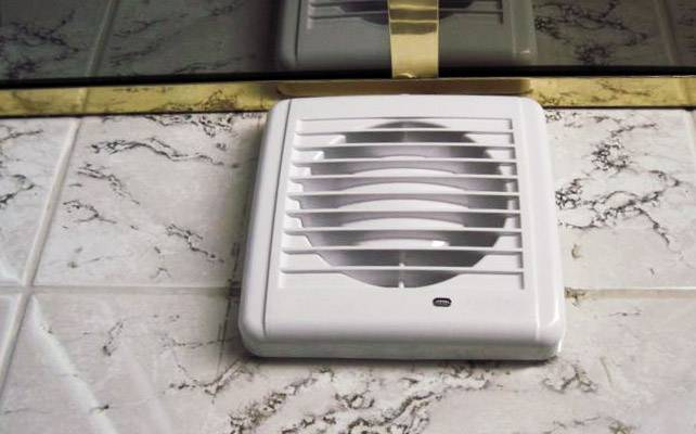 Вентиляторы для вытяжки в ванной — техническое описание