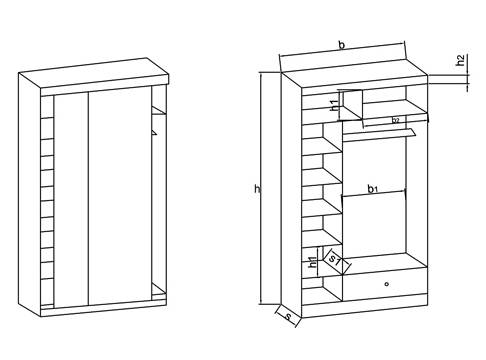Шкаф-купе своими руками (61 фото): как сделать встроенный в домашних условиях. пошаговая инструкция и чертежи с описанием