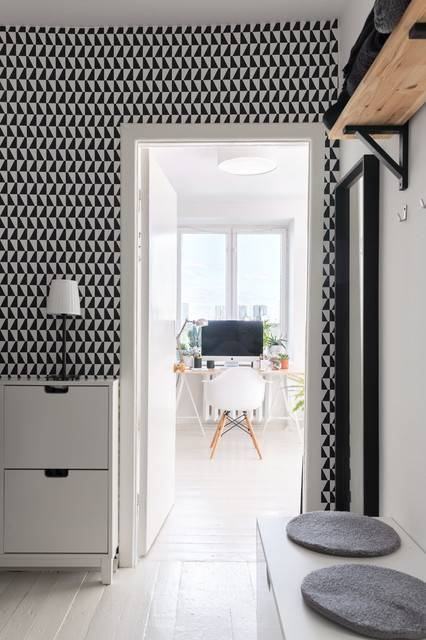 Обои для прихожей и коридора, фото лучших идей, советы по выбору