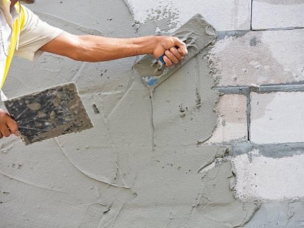Раствор для штукатурки стен: пропорции, состав - как приготовить