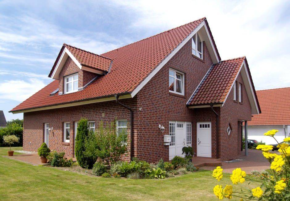 Фасады домов фото одноэтажных кирпичных домов: 210+ (фото) красивых фасадов своими руками – красивые фасады домов из кирпича на фото
