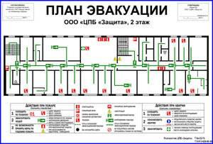 Программа для рисования плана эвакуации при пожаре