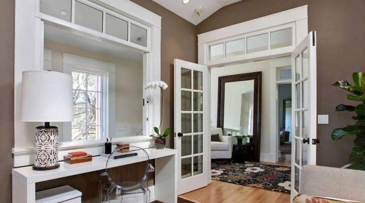 Двойная межкомнатная распашная дверь : преимущества конструкции и особенности установки, советы эксперта